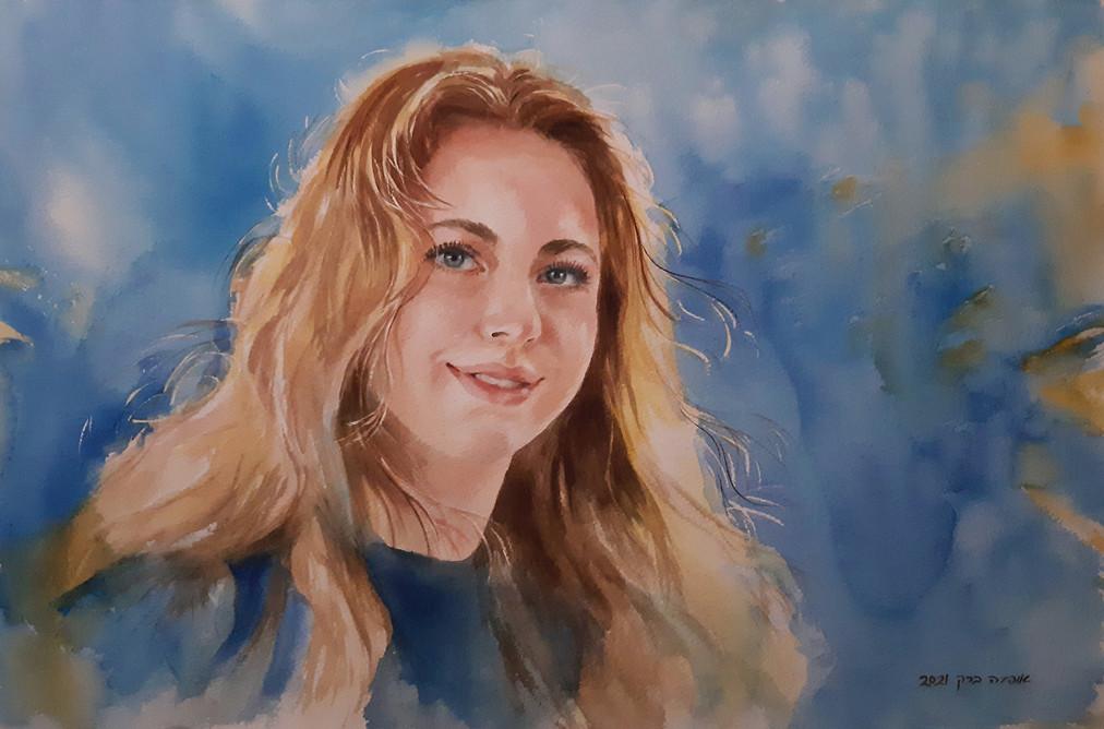 Darya-Watercolor-55X35cm-2021