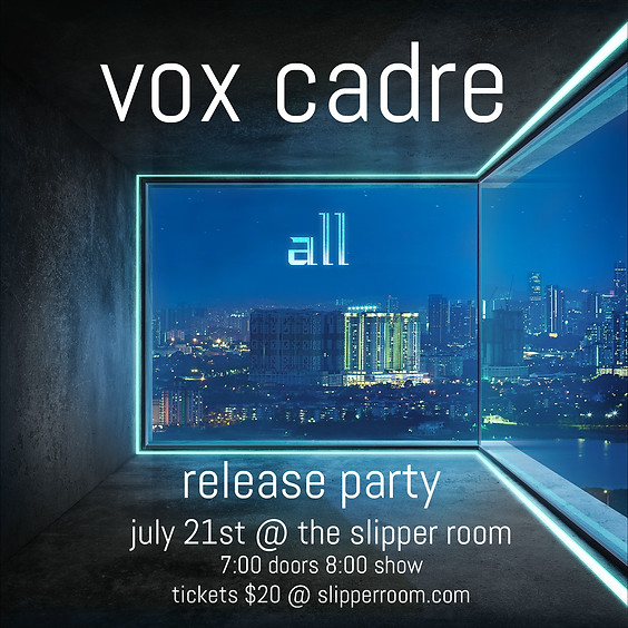 Guest Event: Vox Cadre Record Release Party (Doors 7:00PM)