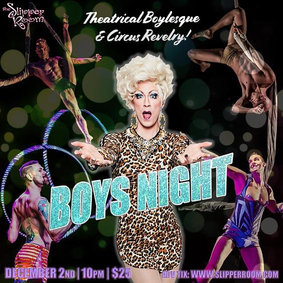 Boys' Night Revue! (Doors: 9:30PM)