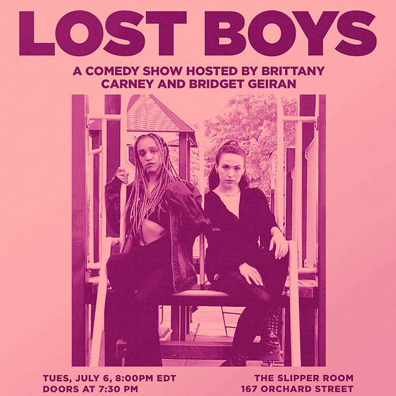 Guest Event: Lost Boys: Stand-Up Comedy (Doors 7:30PM)