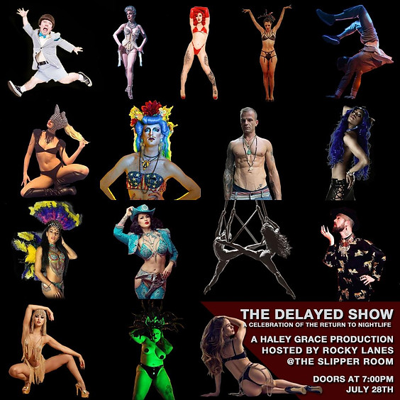 Guest Event: The Delayed Show (Doors 7PM)