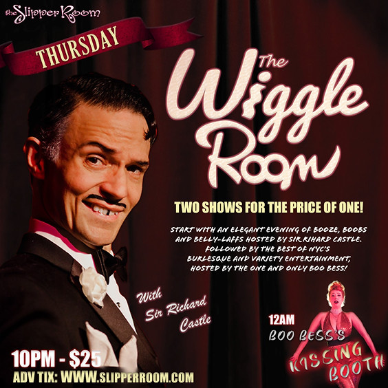 Wiggle Room/Boo Bess's Kissing Booth (doors 9:30pm)