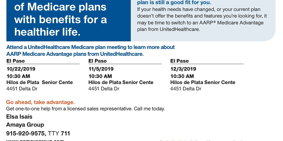 UnitedHealthcare Medicare Advantage Plan Seminar