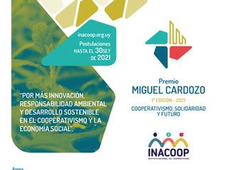 Extensión de plazo - Premio Miguel Cardozo