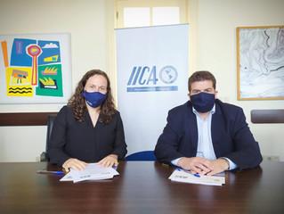 Firma de Acuerdo General de Cooperación INACOOP-IICA