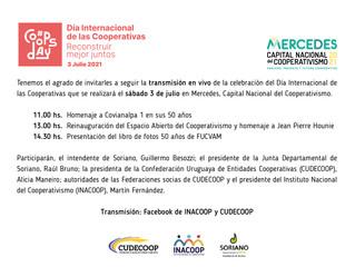 Mercedes será sede del festejo por el Día Internacional de las cooperativas