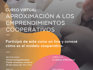 Formación en cooperativismo para estudiantes de UTEC