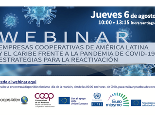 Conversatorio: cooperativas de América Latina frente a la pandemia