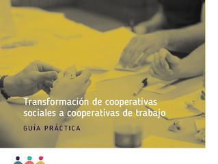 Pasaje de cooperativas sociales a cooperativas de trabajo