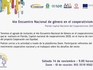 4to Encuentro Nacional de Género en el Cooperativismo