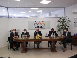 Nuevas autoridades de INACOOP y FONDES-INACOOP