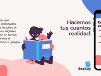 Bookuy, una nueva app uruguaya que permite a niñas y niños crear libros digitales