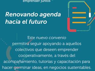Incubacoop, nuevo convenio para la primera incubadora de cooperativas de base tecnológica