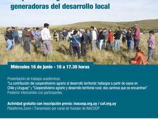 Seminario virtual - Cooperativas agrarias como generadoras de desarrollo local