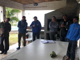 Recorrida del presidente de INACOOP, Martín Fernández, en Cerro Largo
