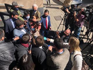 El presidente de INACOOP se reunió con el Canciller Bustillo por deudas de Venezuela con cooperativa