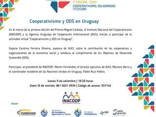 Actividad virtual - Cooperativismo y ODS en Uruguay