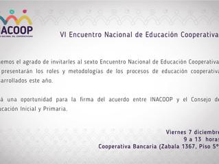 VI Encuentro Nacional de Educación Cooperativa