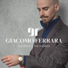 Giacomo Ferrara · Brand identity