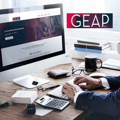 Sito Web · rebranding GEAP srl