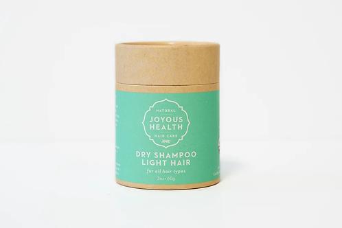 Joyous Health Dry Shampoo Light hair