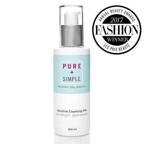 Pure + Simple Sensitive Cleansing Milk