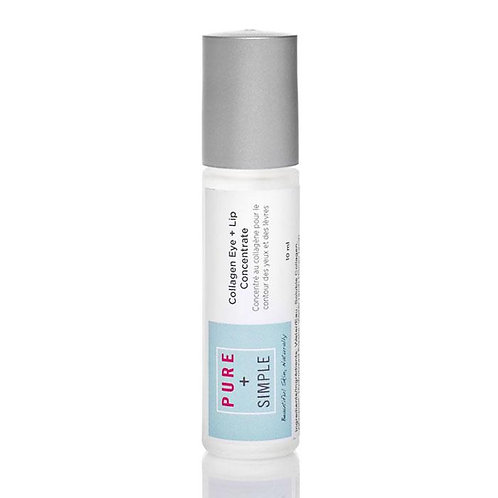 Pure + Simple Collagen Eye + Lip Concentrate
