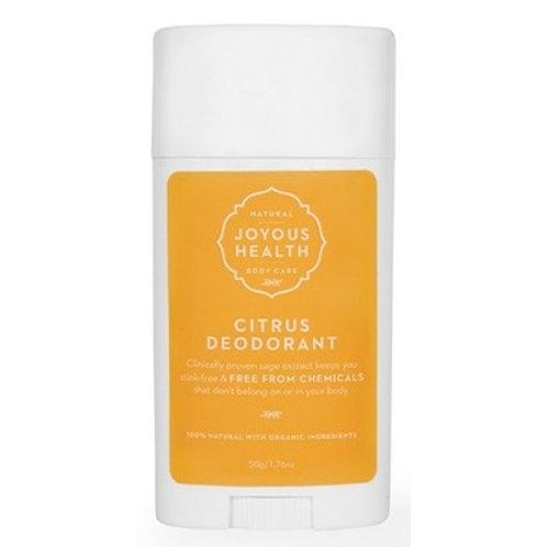Joyous Health Citrus Deodorant