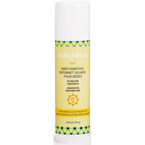 Natural SPF30 sun care stick for baby