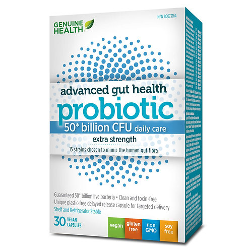 Genuine Health Probiotic 50 billion Extra Strength
