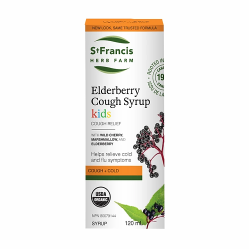 Elderberry Cough Syrup Kids