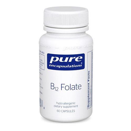 Pure Encapsulations B12 Folate