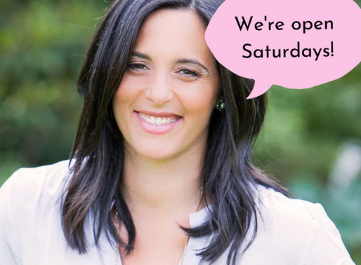 Appointments Available Saturdays!