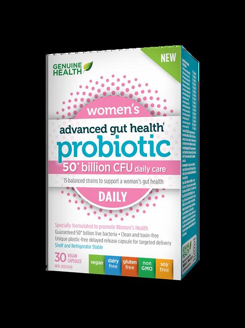 Genuine Health Probiotic Women's Daily 50 Billion