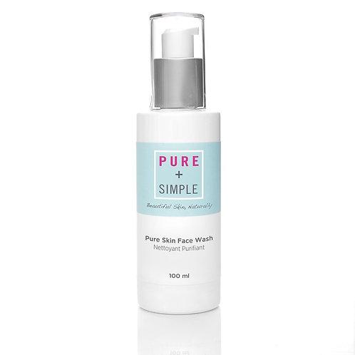 Pure + Simple Pure Skin Face Wash 100mL