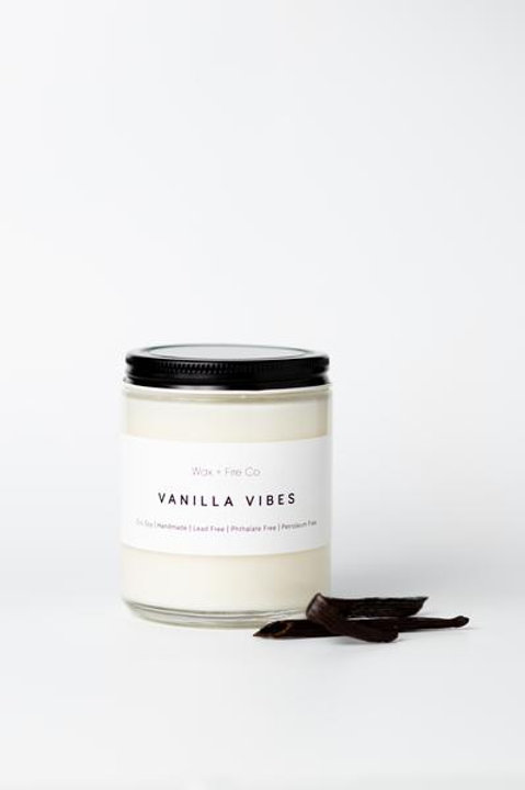 Vanilla Vibes Soy Candle