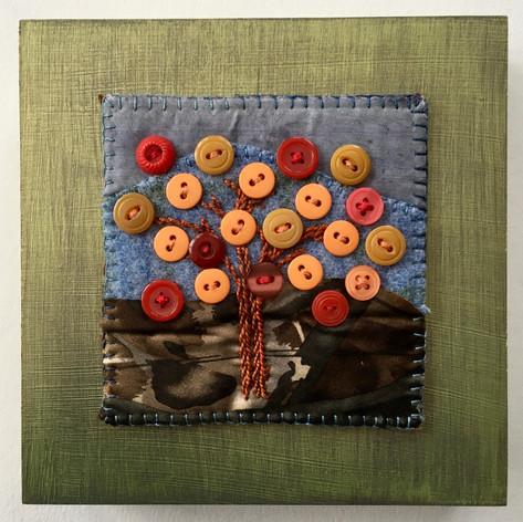 Button Jar Autumn