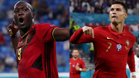 Romelu Lukaku teases Cristiano Ronaldo