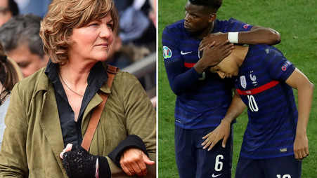 Paul Pogba and Kylian Mbappe families 'clash with Adrien Rabiot's mother' as beaten France camp…