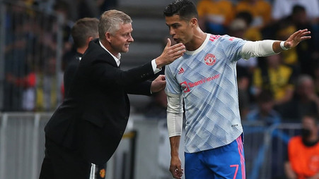 Cristiano Ronaldo's pointed demand to Ole Gunnar Solskjaer ignored after Carabao Cup exit
