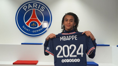 More Mbappe? PSG star's brother signs with club