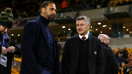 Rio Ferdinand sends message to 'Ole out' calls from Manchester United fans on social media