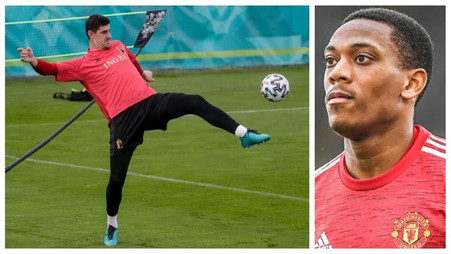 Thibaut Courtois slams Manchester United forward Anthony Martial with brutal answer