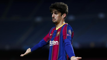 Francisco Trincao from Barcelona joins a new club