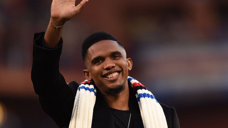 Eto'o calls on Barcelona to sign controversial Real Madrid legend