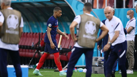 Kylian Mbappe sent Cristiano Ronaldo and Lionel Messi message after France penalty miss