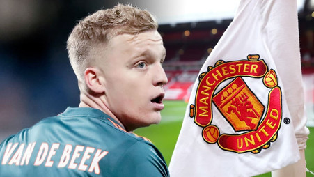 ManUnited star Donny van de Beek makes transfer decision