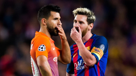 Eto'o supposed how many goals Messi and Aguero will score next season at Barcelona