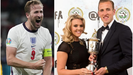 Harry Kane's wife 'in tears' over tribute to her husband before England's EURO 2020 final