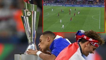 Why Mbappe' was not offside in Nations League Final